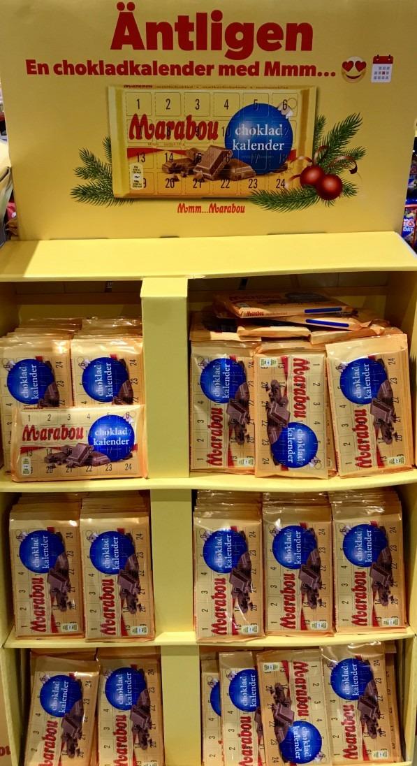 marabou choklad kalender