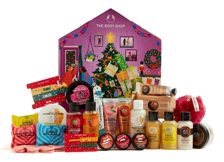 the body shop lilla adventskalender 2020