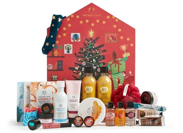 the body shop mellan adventskalender 2020