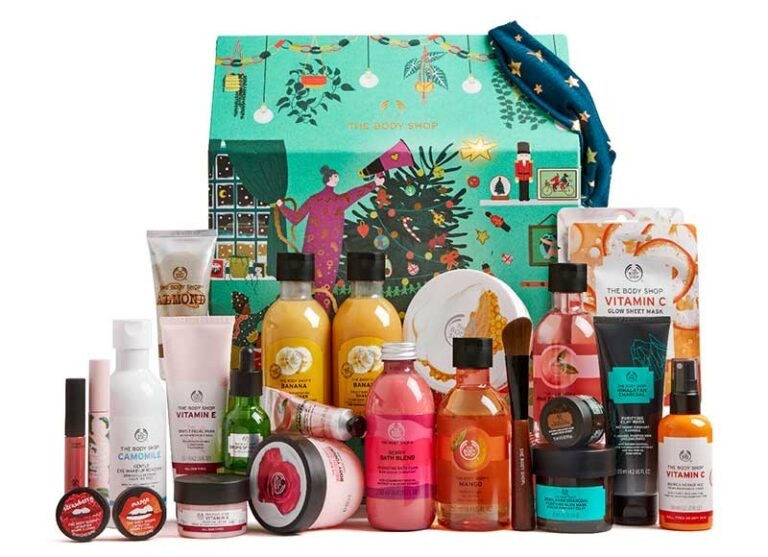 the body shop stora adventskalender 2020