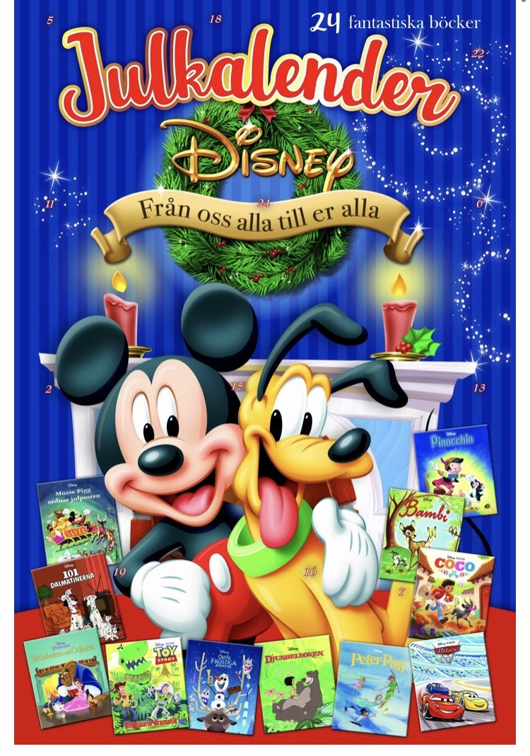 Disney adventskalender 2020