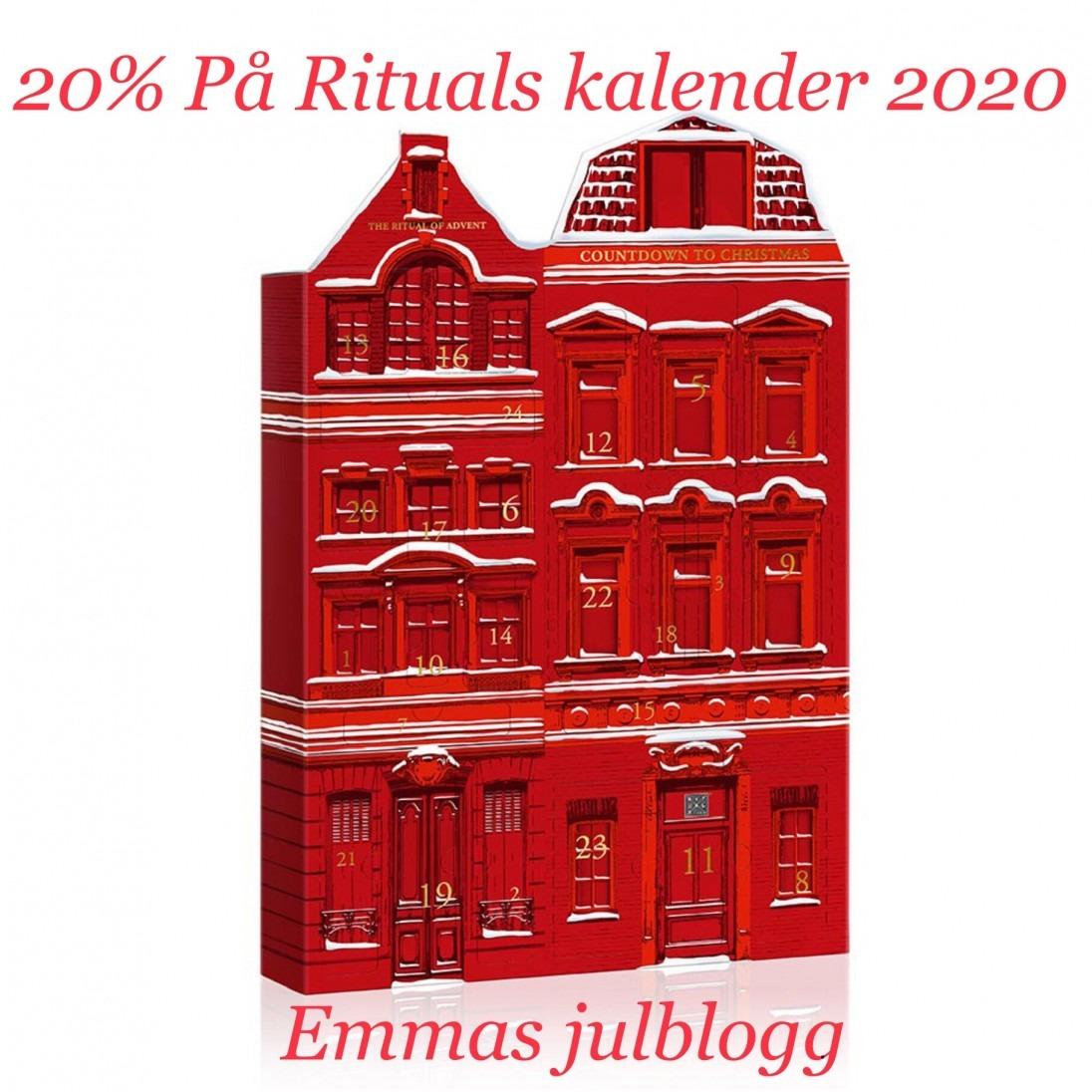 Rea på rituals adventskalender 2020
