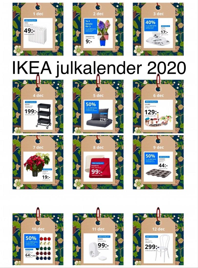 IKEA julkalender 2020