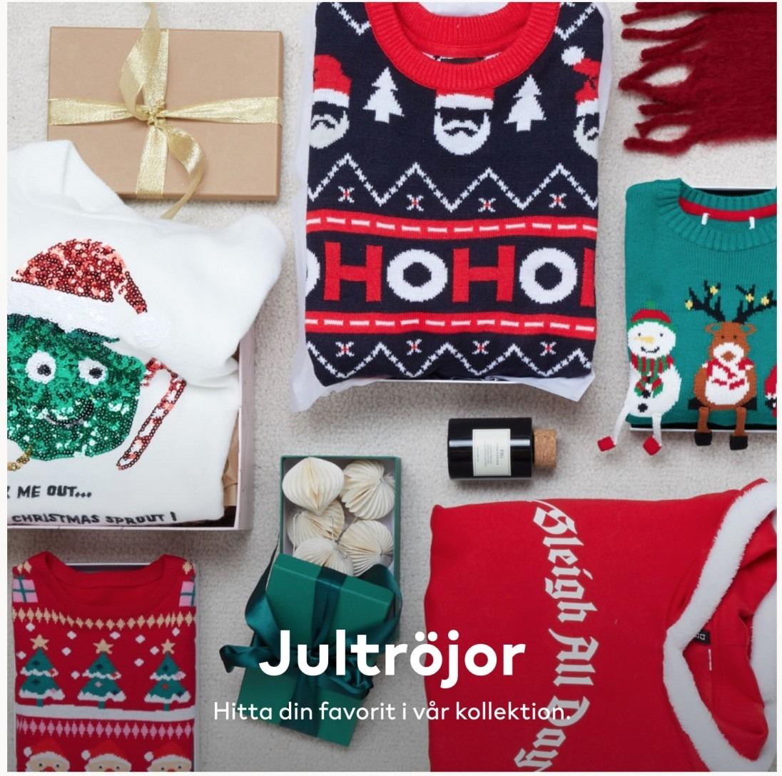 Jultröjor H&M
