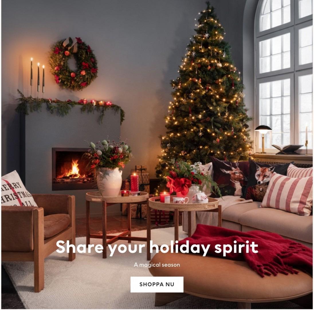 Julen på H&M home