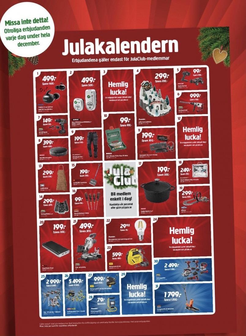Jula julkalender 2020