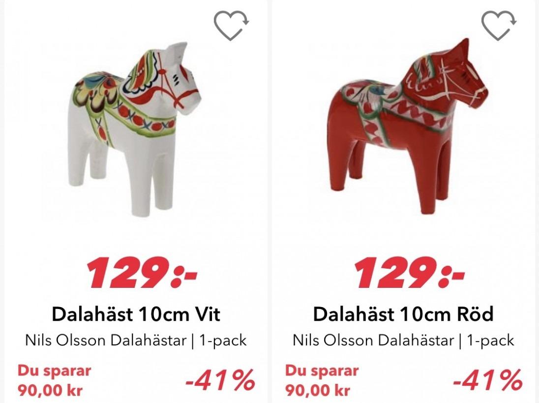 Dalahästar matsmart.se