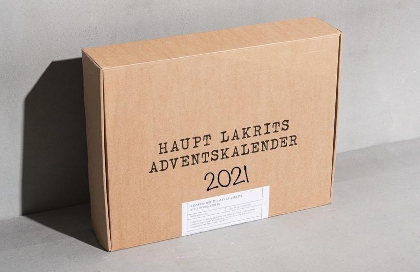Haupt lakrits adventskalender 2021